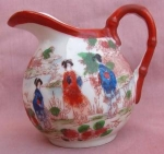 Vintage Geisha Girl Japan Cream Pitcher