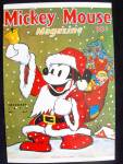 'mickey Mouse Magazine' Cover 1937 Postcard