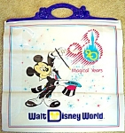W D W 20th Anniversary Large Plastic Bag - Blue Handle