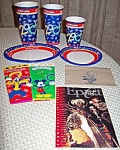 Wdw 2000 Paper Cups, Plates, Popcorn , Napkins, Booklet