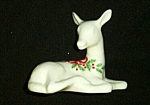 1993 Lenox China Holiday Jewels Deer Figurine -retired