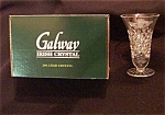 Galway Claddagh Ring Footed Vase