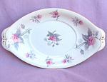 Meito China Roses Oval Tray Or Liner Dish