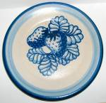 Dorchester Pottery Strawberry Dessert Plate- 7-1/2
