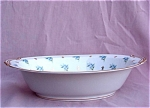 Noritake China Remembrance Oval Bowl Vegetable