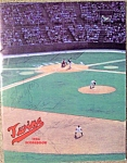Mn Twins/boston Red Sox 1986 Baseball Program