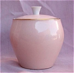 Noritake Light Pink Covered Sugar Bowl