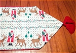 Leacock Santa And Reindeer Runner - 88""