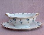 Noritake China Remembrance Gravy Boat W/liner