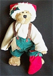 Boyds Plush Christmas Bear - Nicklas T. Jodibear