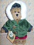 Boyds Plush Bear - Matthew H. Bean - 91756-10 -retired