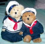 Boyds Bears Skippy Jodibear Sailor And Friend