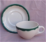 Syracuse Restaurant China Cup & Saucer