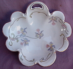 Rosenthal China Orchid Blossom Scalloped Bowl