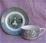 Royal China Old Curiosity Shop Cup & Saucer