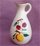 Stangl Pottery Fruit Cruet Vinegar