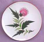 Stangl Pottery Thistle B&b Plate
