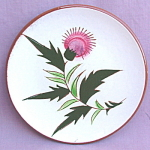 Stangl Pottery Thistle Bread And Butter Plate