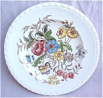 May Flowers Vernon Kilns Dinner Plate