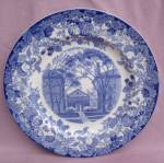Wedgwood Harvard University Holden Chapel Plate