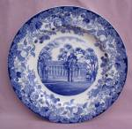 Wedgwood Harvard University Widener Plate