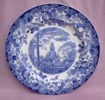 Wedgwood Harvard University Memorial Plate