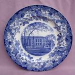 Wedgwood Harvard University Langdell Plate