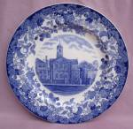 Wedgwood Harvard University Harvard Plate