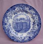 Wedgwood Harvard University Hall Plate