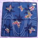 Colorful Japan Printed Butterfly Scarf Hankie