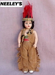 Duchess Indian Chief Plastic Storybook Doll