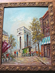 Signed Oil Painting - Weaton