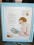 Antique Print Ad - Yeast Foam Tablets