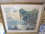 Vintage Heran Chaban Large Framed Print