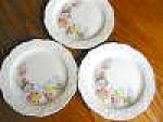Edwin Knowles Melody Salad Plates