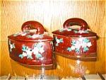 Ceramic Iron Shaped Boxes