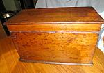 Primitive Antique Wood Chest