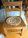 Vintage Oak Child's Chair