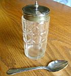 Antique Dry Mustard Jar