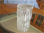 Vintage Cut Crystal Covered Jar