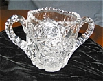 Antique Mckee Glass Co. Sugar Bowl