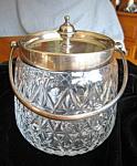 Victorian Biscuit Jar Daniel & Arter