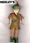 Robin Hood Plastic Storybook Doll C.1950