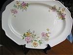 Vintage Floral Platter