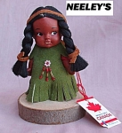 Canada Souvenir Indian Rubber Doll.
