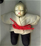 Little Oriental Doll Porcelian Head