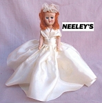 Bride Hard Plastic Storybook Doll 50's