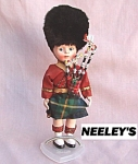 Scottish Bagpipes Plastic Storybook Doll