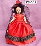 Senorita Composition Storybook Doll C.1950