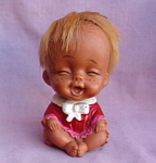 Small Japan Rubber Laughing Baby Doll